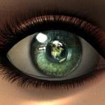 Beautiful girl eye in 3D — Stock Photo #1884772