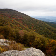 Appalachian Mountians Autumn Fall Landscape - Stock Photo