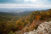 Appalachian Mountians Autumn Fall Landscape — Stock Photo