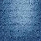 蓝色牛仔裤牛仔面料质地 — 图库照片