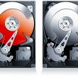 Hard disk drive HDD clipart — Stock Photo #21160901