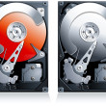 Постер, плакат: Hard disk drive HDD clipart