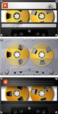 Analog Audio Cassette tape — Stock Photo