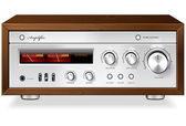 Vintage Hi-Fi analog Stereo Amplifier vector — Cтоковый вектор