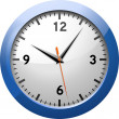 Classic Office Clock — Stockfoto