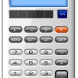 Accounting Finance Business Calculator — Stock Photo