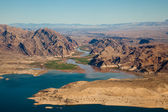 Lake Mead Aerial View — Stock Photo