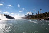 Niagara Falls View From Niagara River Gorge — Stok fotoğraf