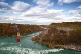 Cable Car Over Niagara River Whirlpool Canada — Stock Photo