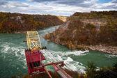 Cable Car Over Niagara River Whirlpool Canada — Stock Photo
