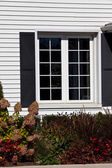 Residential House Window — Stock Photo