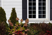Residential House Window — Stock Photo