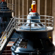 Stock Photo: Hoover Dam Powerhouse Generators