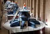 Hoover Dam Powerhouse Generators — Stock Photo