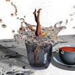 Jump in a cup — Stock Photo