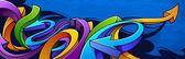 Graffiti arka plan — Stok Vektör