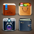 Vetorial Stock : High detailed apps icons