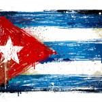 Cuba grunge flag — Stock Vector #20183343