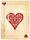 Baralho vintage poster — Vetorial Stock