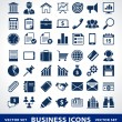 Vector set of simple business icons. — Stock Vector #21705257