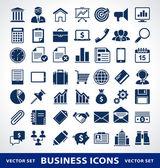 Vector conjunto de ícones de negócio simples. — Vetorial Stock