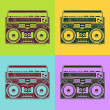 Royalty-Free Stock Vectorafbeeldingen: Hand drawn reel recorder