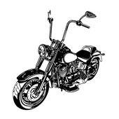 Motocicleta — Vetor de Stock