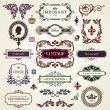 Vintage design elements — Image vectorielle