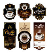 Coffee design banners — Stock Vector