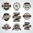 Vintage premium quality labels — Stock Vector #26292013