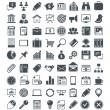 图库矢量图片: Set of usefull vector icons