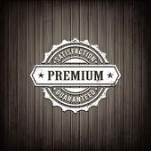 Premium quality emblem — Stock Vector