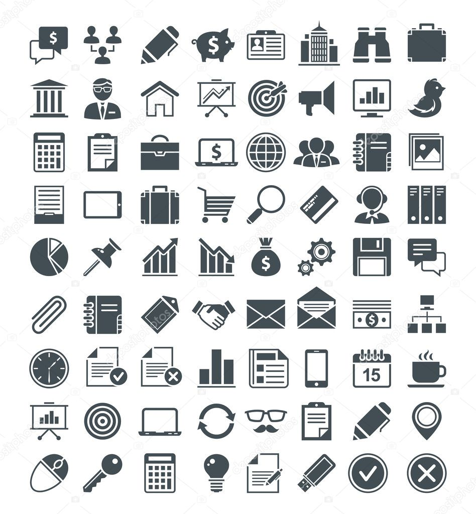 Set of usefull vector icons