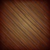 Fond sombre de planche de bois — Vecteur