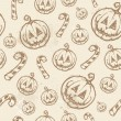 Halloween seamless texture — Stock Vector #32182899
