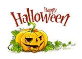 Helloween pumpkin — Stock Vector