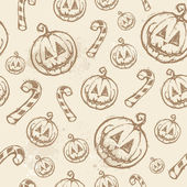 Halloween seamless texture — Stock Vector