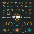 Hipster Design Elements — Stock Vector #51323255