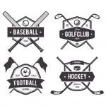 Постер, плакат: Sport Vector Emblems