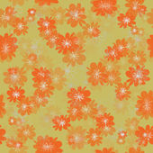 Green orange seamless background — Stock Photo