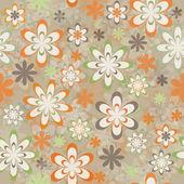 Fondo floral transparente — Foto de Stock