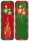 New year and christmas banner — Stock Vector