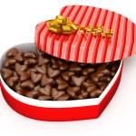 Box for Valentine's present — Stock Photo #38382391