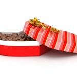 Box for Valentine's present — Stock Photo #38382549