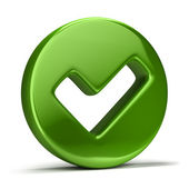 Checkmark icon — Stock Photo
