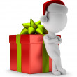 3d small people - gift ready — Stock Photo #35617151