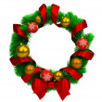 Christmas wreath — Stock Photo #7753596