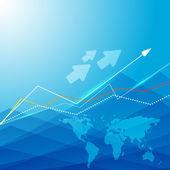 Fundo azul. eps10 — Vetorial Stock