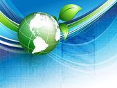 Koncepce životního prostředí vektor. eps10 — Stock vektor