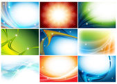 Colorful huge vector set — Stock Vector